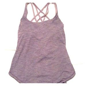 Lululemon Women's Yoga Tank- Heathered Gray
